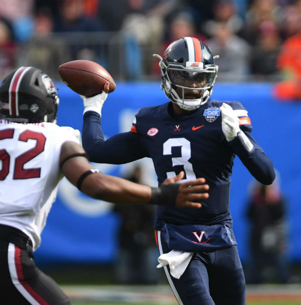 Uva S Perkins Holds His Own In National Qb Rankings Jerry