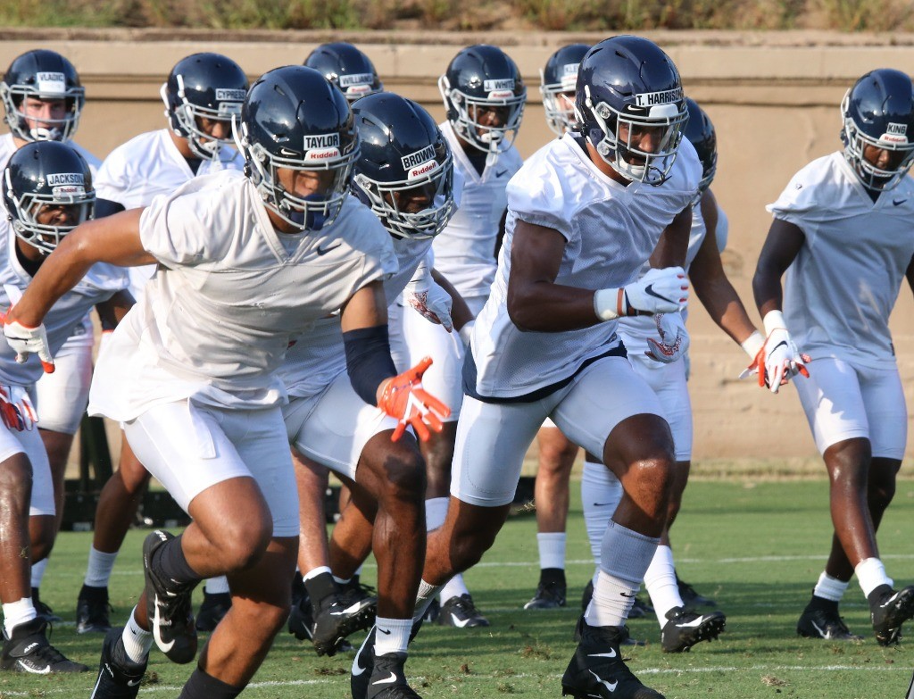 O Line Remains A Concern In Virginia Training Camp Jerry