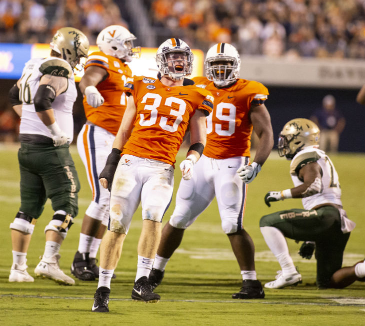 Notre Dame S Kelly On Uva Defense They Re All Over The