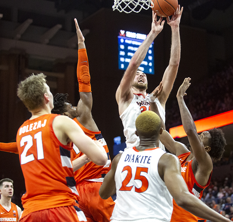 Boeheim lifts Syracuse past No. 18 Virginia, 63-55 in OT